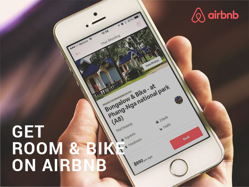 book on air bnb